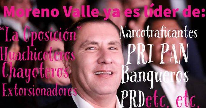 #MarthaGobernadora #morenovalle líder de la oposición. Photo