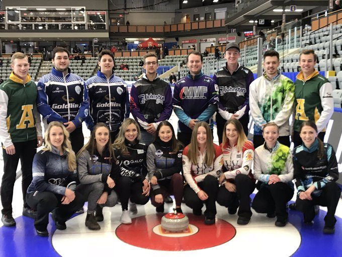 Thrilled to meet and work with all of @CurlingCanada NextGen athletes at the Canada Cup this week in Estevan. The future of Canadian Curling is looking extremely bright! Photo