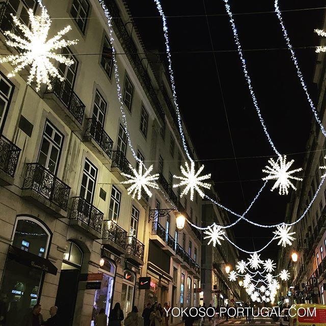 test ツイッターメディア - リスボン、シアード地区のガレット通り。 #イルミネーション #リスボン #ポルトガル https://t.co/autVwfc9XN