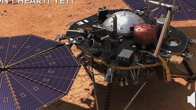 Registrato il suono del vento su #Marte , ecco l'audio della #Nasa https://t.co/KFqnYzHq3J