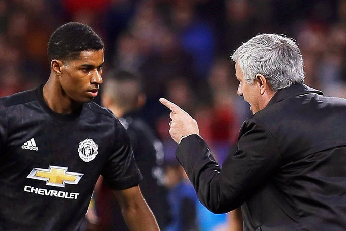 I think someone sat down with Rashford and made him understand he is now number 10 for Manchester United. Proper players step up, and that's what he's doing #Rashford #Greatness 🦁 Photo