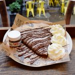Occasions to treat yourself to our new Ultimate Nutella Crêpe: -It's cheat day -You want to show someone you love them -You need a good foodie Instagram -You're celebrating -Because… you don't need a reason to eat Nutella https://t.co/AAW8i1Ddy2