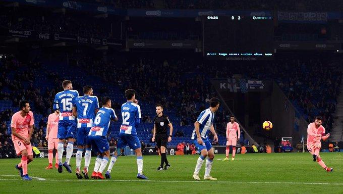 😳😵⚽ El no va más de Messi: más goles de falta desde 2014 que todos los clubs de las grandes Ligas ¿Cuántos dirías que lleva? 🤔 Photo