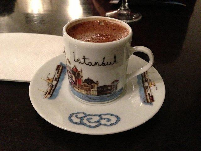 #uzaydanbakınca görünen istanbul ve türk kahvesi ......☺😂 Fotoğraf