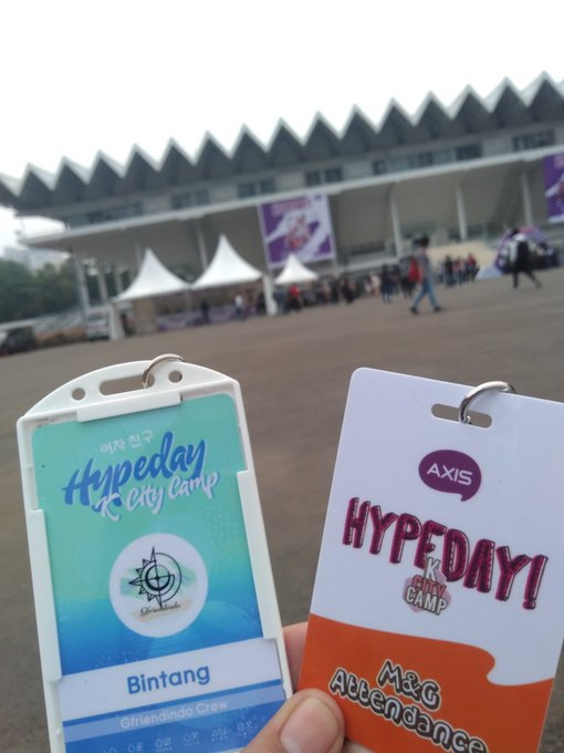 cant wait for mng with Gfriend 😭 #gfriend #KCityCamp2018 Photo