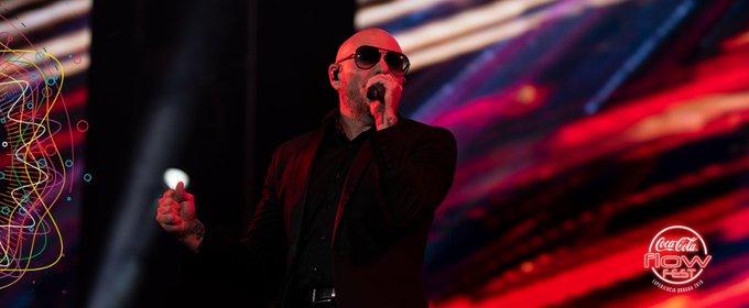 No queríamos que parara la fiesta con Pitbull pero es hora de despedirnos del #CocaColaFlowFest Foto