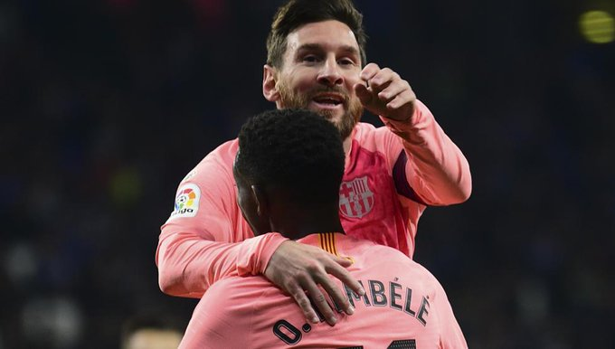 "#FCBarcelona Messi: ""Necesitamos a Dembélé"" Foto"