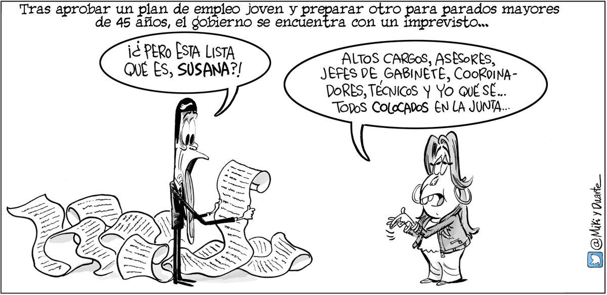 Mucha gente al paro. Hoy, en @diariosevilla, @diariocadiz y los periódicos de @grupojoly