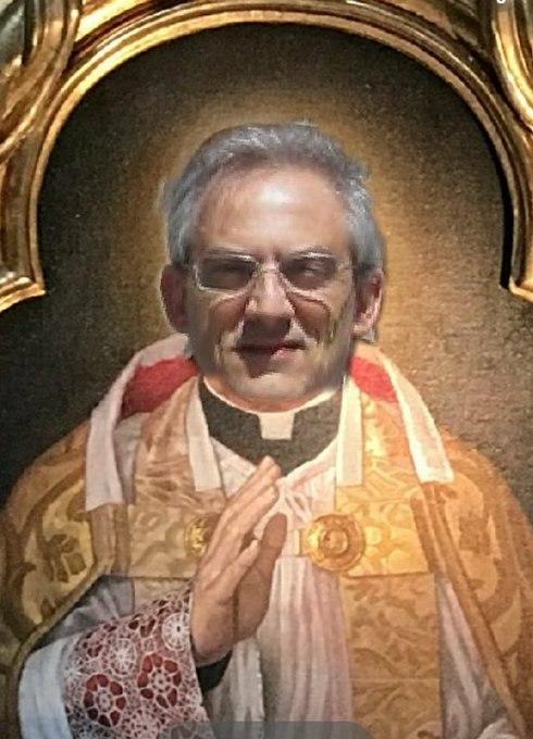 BON DIUMENJA A TUTÓM!!! Imantja da arxiu: Mn @Manelsaus impartín justicia divina a @TRECE_es Photo