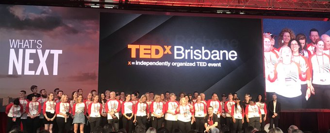 Big thank you to all of the advocates from @TEDxBrisbane who put massive efforts into making this a great day! Photo