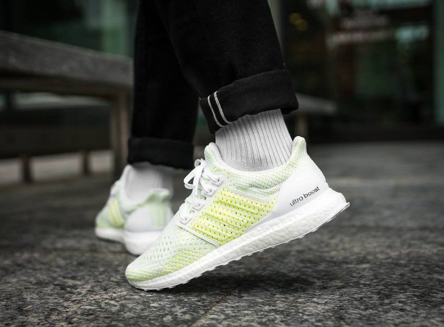 """51% OFF  FREE SHIPPING  Grab the adidas Ultra Boost Clima """"Solar Yellow"""" for $98 (Retail $200)  Use code ADIFAM at checkout -&gt;  https:// bit.ly/2Mof1t3  &nbsp;  <br>http://pic.twitter.com/cM6ePfw4Fb"""