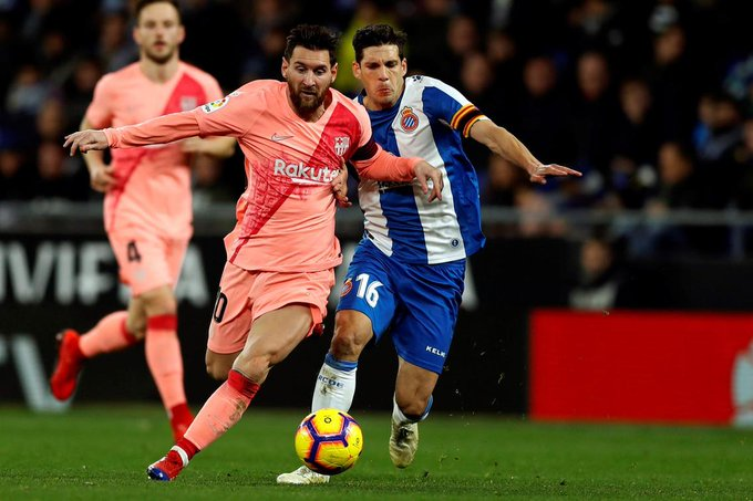 Lionel Messi, at his brilliant best in destruction of Espanyol, proves why he is the greatest player ever, no matter what Pele says. @AndyMitten reports from Cornella | Foto