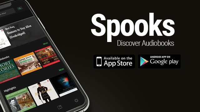 Audiobooks on Spotify (@SpooksAppUK) | Twitter