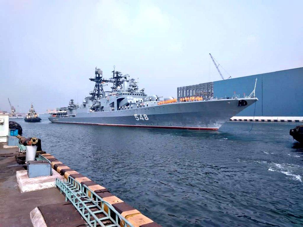 Indian Navy Ship Wallpaper