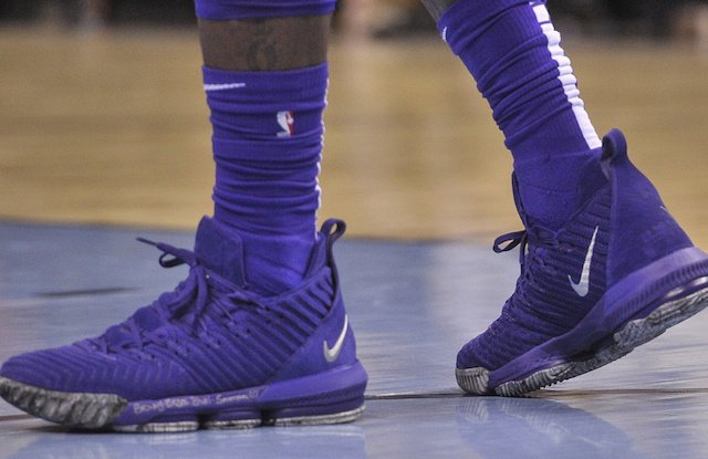 lebron james explained what was behind giving away his game worn nike lebron  16 a3c1e54f8