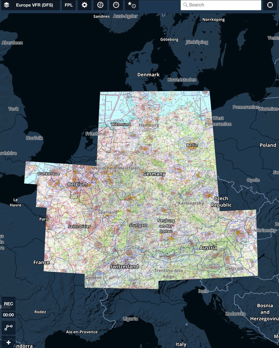 Map Of France Belgium And Luxembourg.Foreflight On Twitter Dfs Charts In Foreflight Now Cover Austria
