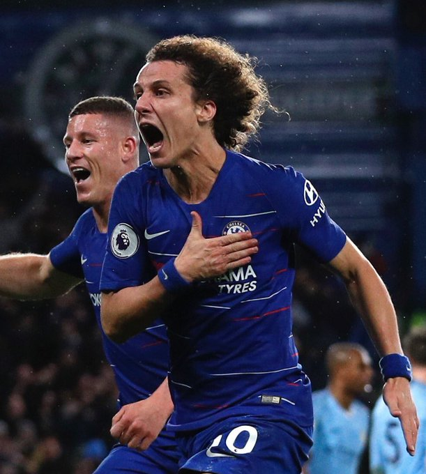 David Luiz was absolutely superb yesterday. Credit where it's due as he often doesn't get the recognition he deserves. Last ditch tackles, blocks, defensive headers. His range of passing was fantastic & his performance was topped off with the vital 2nd goal. Look at that passion! Photo