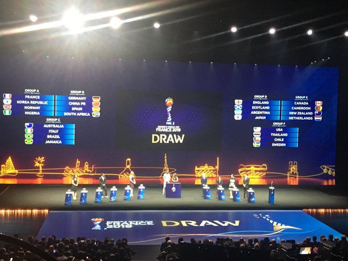 Heading back to London after 24 hours in Paris. A fantastic experience to witness the draw. One take that I didn't have the chance to discuss yesterday. Should France and the USA win their respective groups and their round of 16 matches, they meet in the QFs. #FIFAWWC Photo