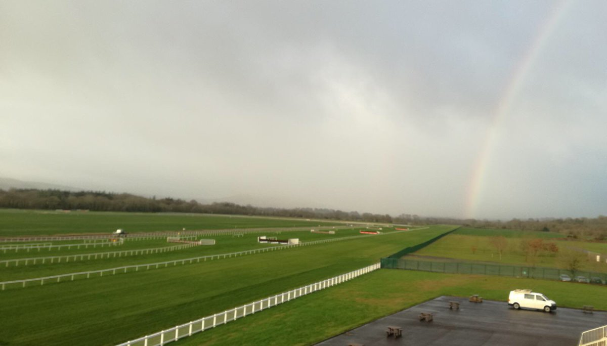test Twitter Media - Beautiful (bit of a) rainbow over @corkracecourse this morning. First of 7 races is off at 12.05pm #ComeRacing https://t.co/HekKK9ORCt