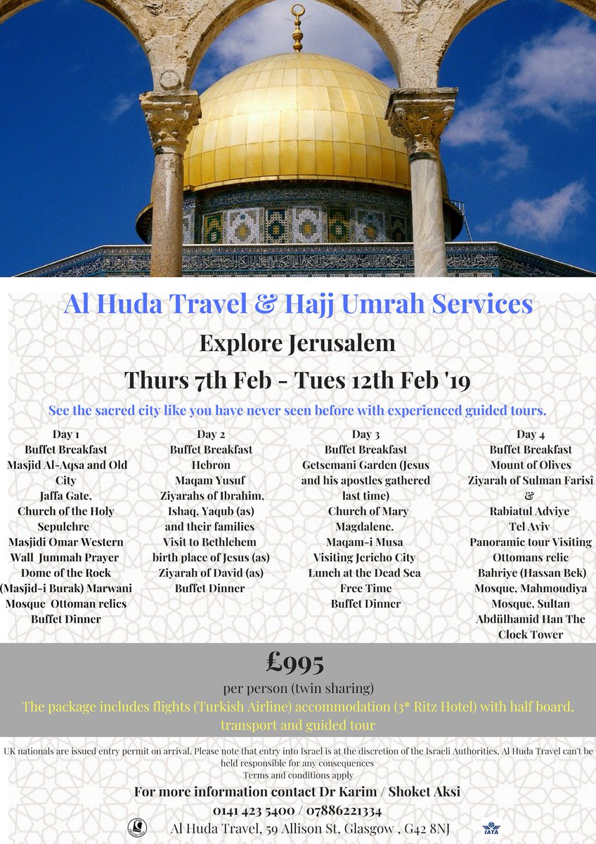 Al Huda Travel Hajj and Umrah on Twitter: