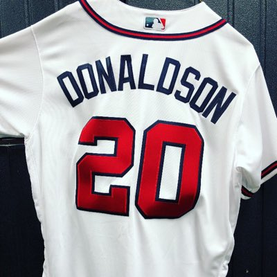 Baseball News  3B Josh Donaldson signed with the Braves on Monday. To  celebrate 988ff9cbc