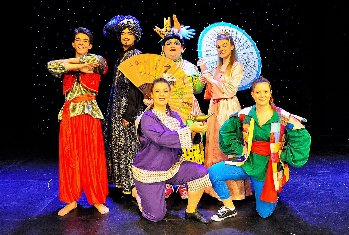 Just a month to go until #Aladdin the traditional family #pantomime at the @FromeMemorial - thanks to the @frometimes for our coverage in the paper this week!