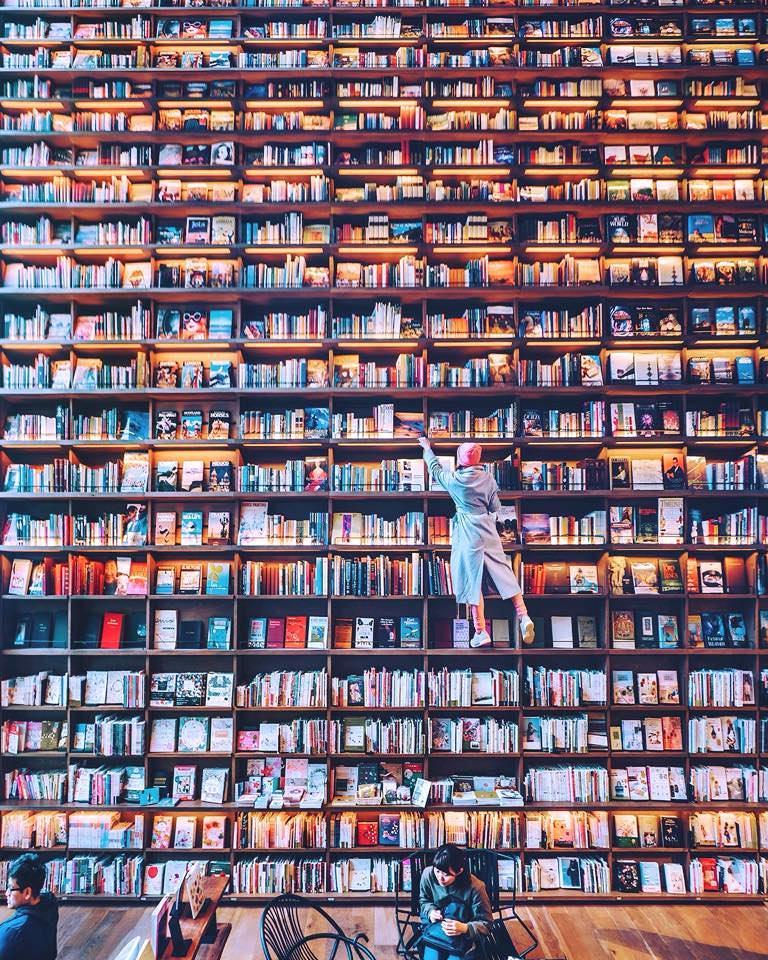 The Majestic Bookstore Osaka Japan ... ????