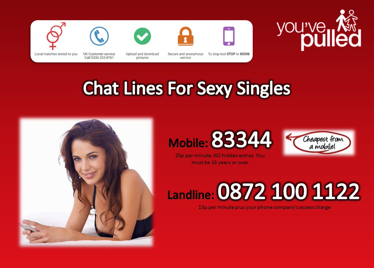 Sexy singles phone chat