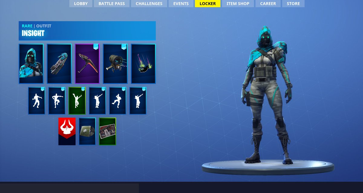 Shiinabr Fortnite Leaks On Twitter New Insight Skin W Sight
