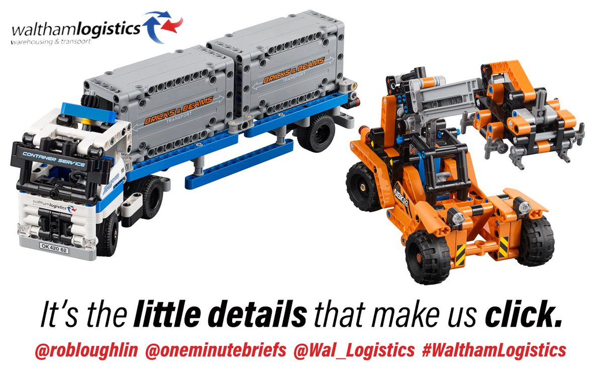 Legotechnic Photos And Hastag Lego Technic Tractor 9393 Walthamlogistics Ad Creative Spoof Logistics Transport Storage Warehouse Pictwittercom 2b3zaozmh1