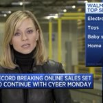 Electronics lead the charge for #CyberMonday, with @Samsung commanding nearly 50% of electronics searches at @WalmartInc. Check out @Captify's Search Intelligence powered #CyberMonday insights, live on @CNBC yesterday with @CourtReagan: https://t.co/WVxuKFqxt4 #Captify