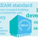Image for the Tweet beginning: BRE's #BREEAM standards can be