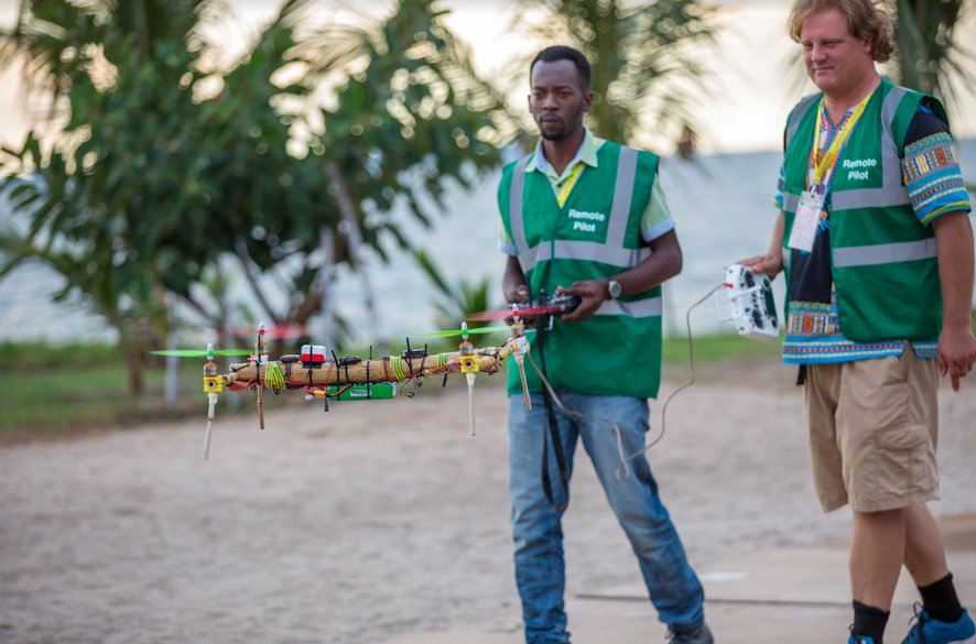 Resultado de imagen para tanzania drone bamboo