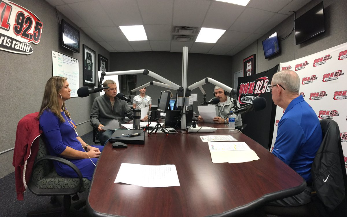 """1010 XL / 92.5 FM on Twitter: """"Tom Coughlin in-studio with ..."""