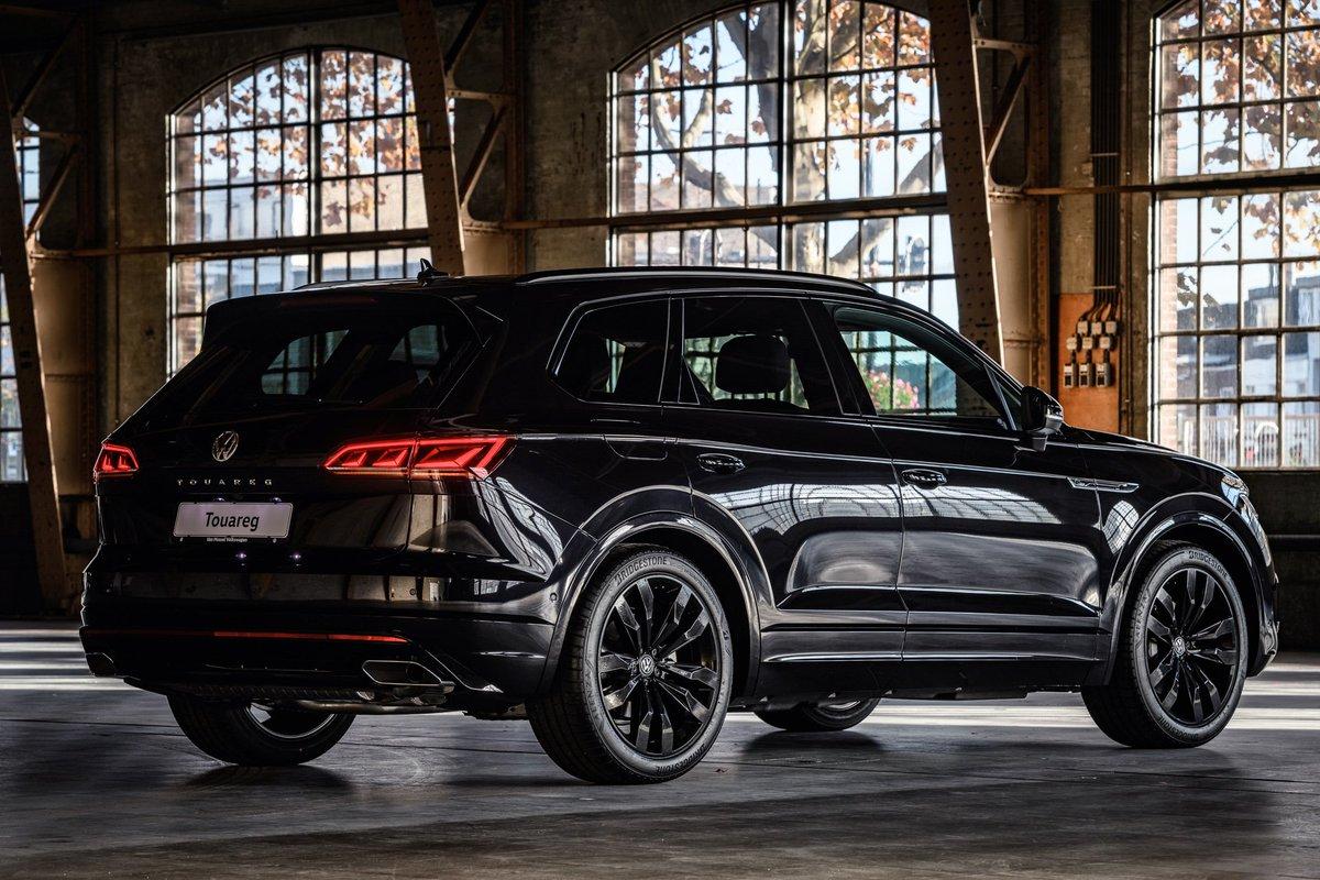 Autohaas No Twitter Volkswagen Touareg Black Style De