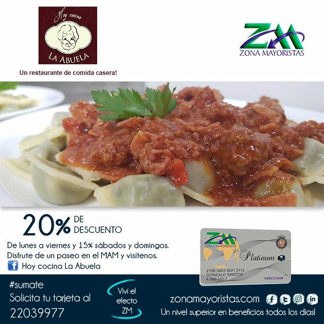 Hoy Cocina La Abuela | Zonamayoristas On Twitter Si Buscas Un Lugar Donde La Buena