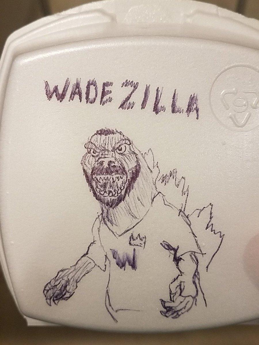 #Doodles @LordMinion777 plus #GODZILLA equals drawing fun