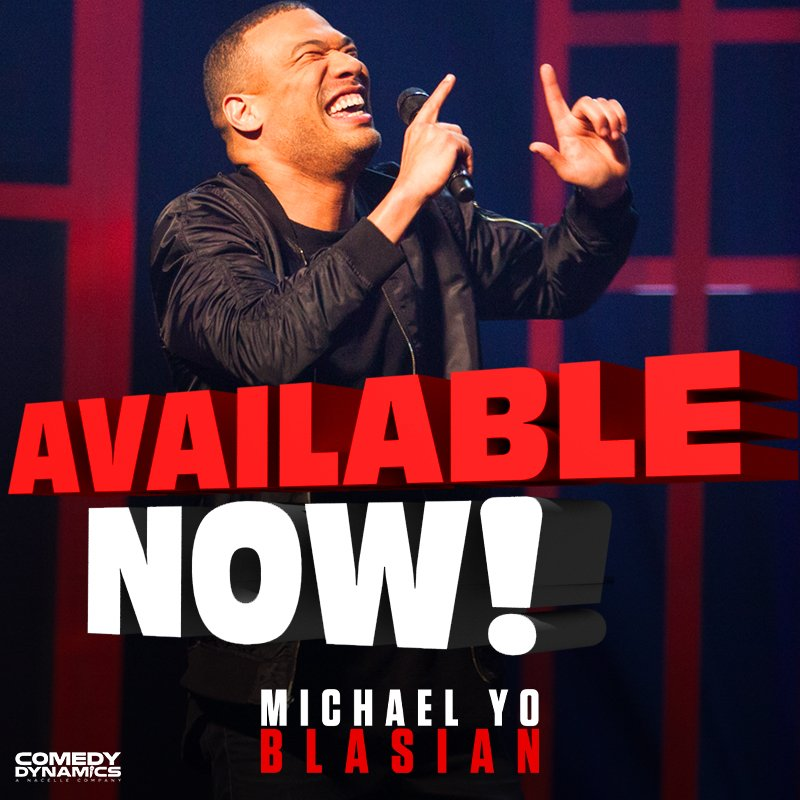 What are you waiting for?! Michael Yo's #Blasian is out now! iTunes: https://apple.co/2OPAQT7  Amazon: https://amzn.to/2E0oqGg  Google Play: http://bit.ly/2DNWrs8  Microsoft XBOX: http://bit.ly/2TVN5jY  YouTube: http://bit.ly/2DNbSAW  #YoBlasian #Comedy Dynamics #MichaelYo