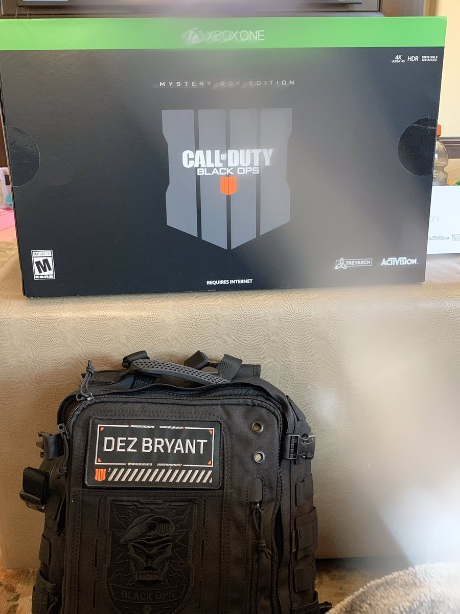 Dez Bryant S Tweet Thank You Activision And The