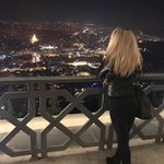 Image for the Tweet beginning: Magic of Tbilisi at night...