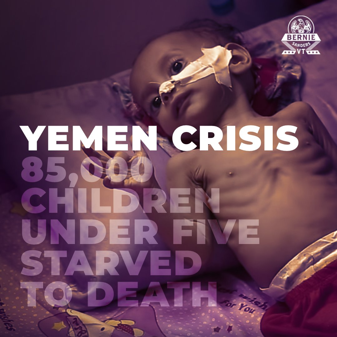 """Some argue that the US is not really engaged in hostilities in Yemen. But as these Yemeni human rights activists told me recently, when Yemenis see """"Made in USA"""" on the bombs killing their children, it's very clear that the US is part of this war. This must end."""