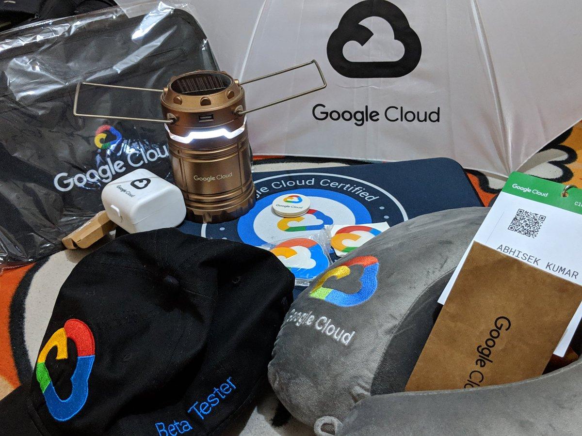 RT @netwrkspider: @GoogleCloud_IN #googlecloudonboard Thanks Google 😎 https://t.co/pRgoCHLVvG