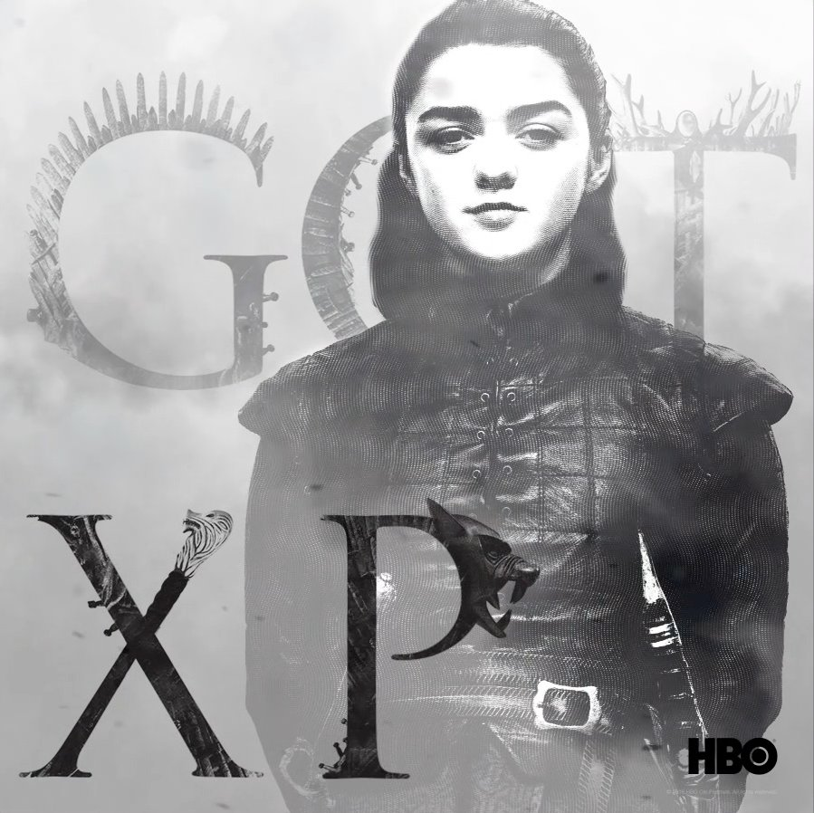A girl has no name. @Maisie_Williams joins @JohnBradleyWest, David Benioff and D.B.Weiss next week at #CCXP18 for #GOTXP.