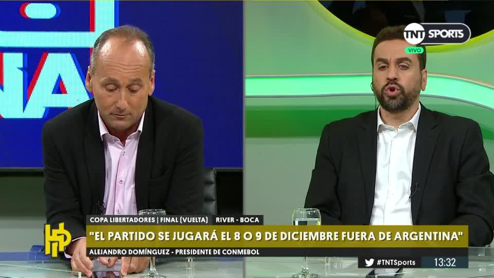 """#TNTSports   """"Ninguno de los dos son limpios. El fútbol argentino está sucio hace 20 años"""" disparó Martín Costa 🔃 Tiene razón ❤️ Nada que ver"""