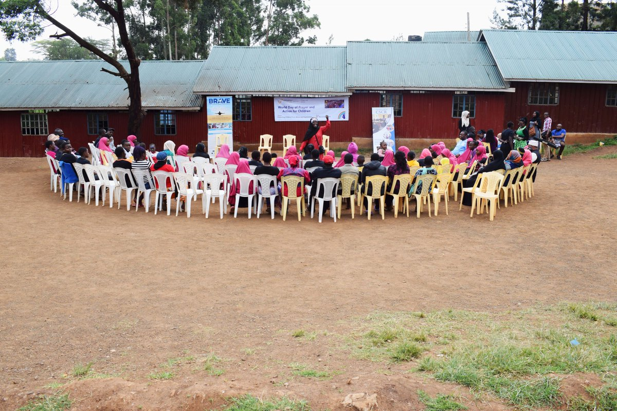 Saturday last week, @ArigatouGNRC members including @PeaceCenter_ , @Horninstitute, Child Life Kenya, visited @kiberapride  to mark the day of #prayerandaction for children under the theme, ''Protecting Children from Abuses and Exploitation''.