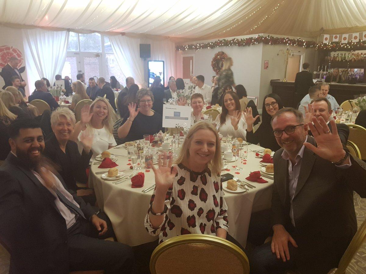 The @NorthWestFDMB sponsored table at @Lancashare1 celebration day #LancashireDay @Pinklinkladies @1upconsultancy @NWBH_SHOW @Momentum_Legal @ellisonprinting @nfum_preston