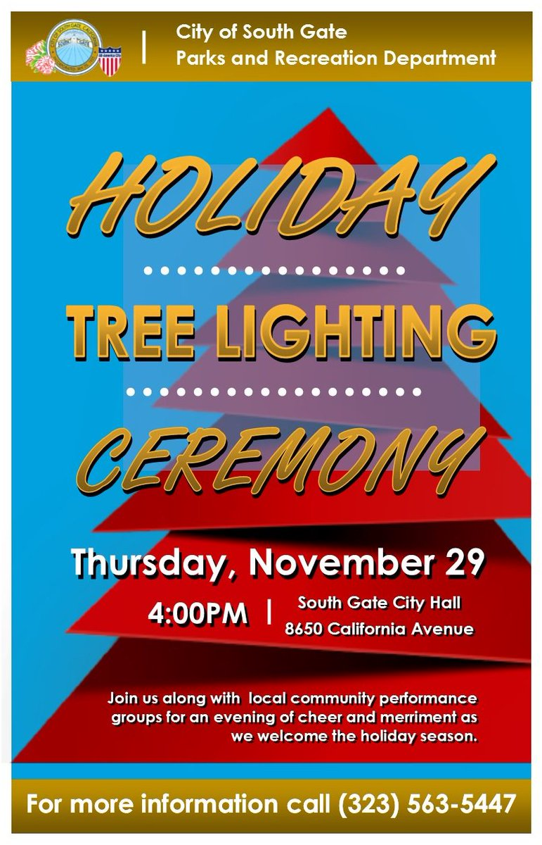 City Of South Gate >> City Of South Gate On Twitter Join Us This Thursday