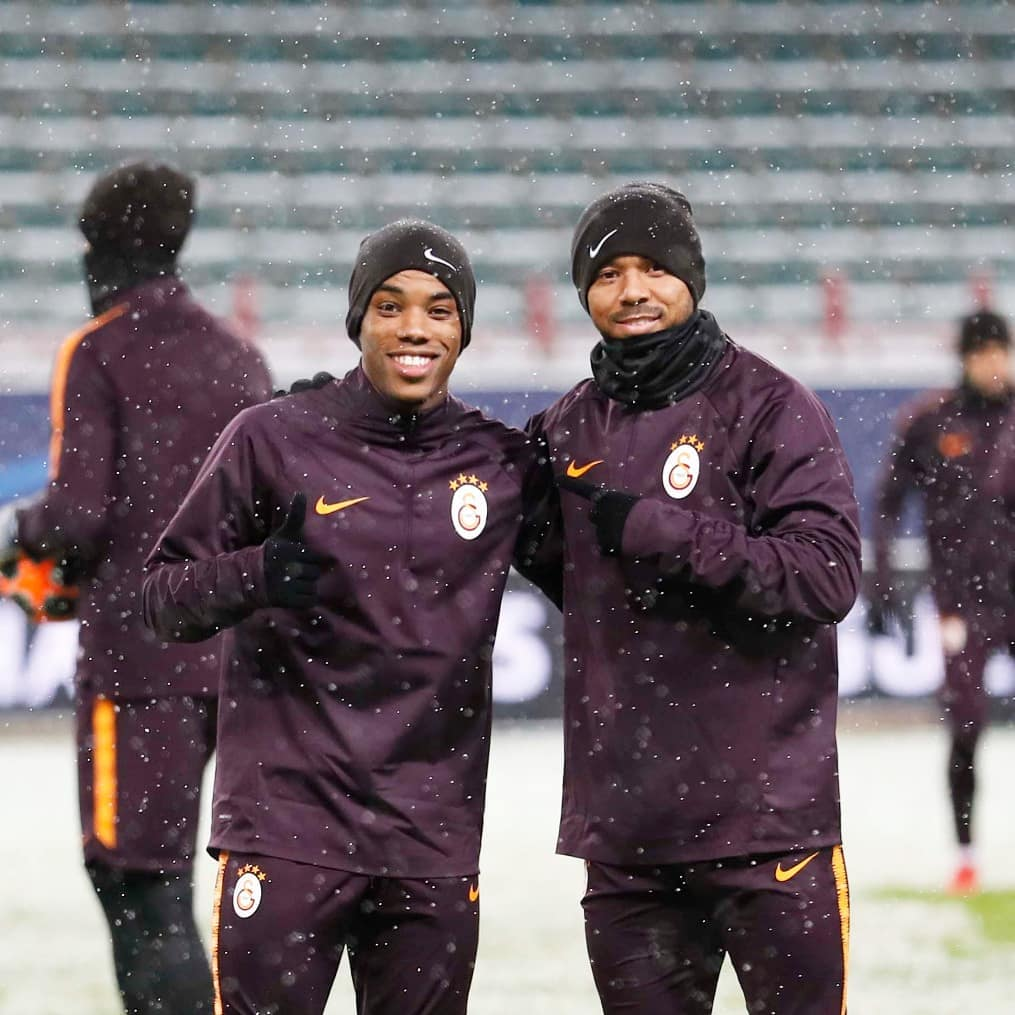 My friend @Rodrigues7Garry 👊🏽❄ #UCL