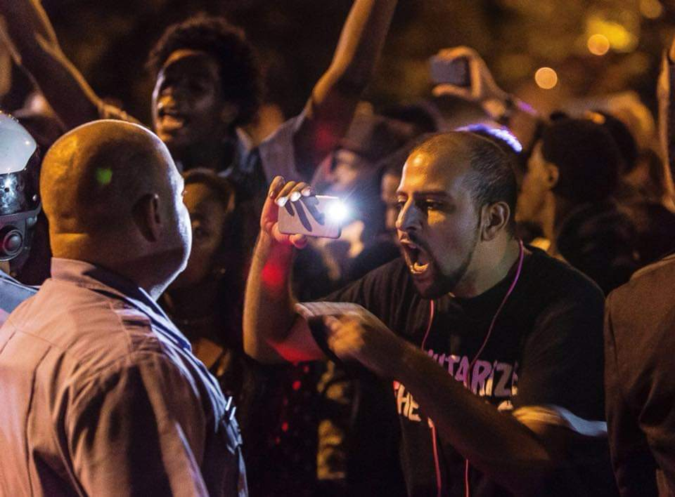 .@bassem_masri wasn't merely an activist. Through his energy, you felt the people of #Ferguson, their pain, anger & frustration in its rawest form. He was a revolutionary. He inspired people. And he was a good friend w/ a beautiful heart & soul. That's how he should be remebered.