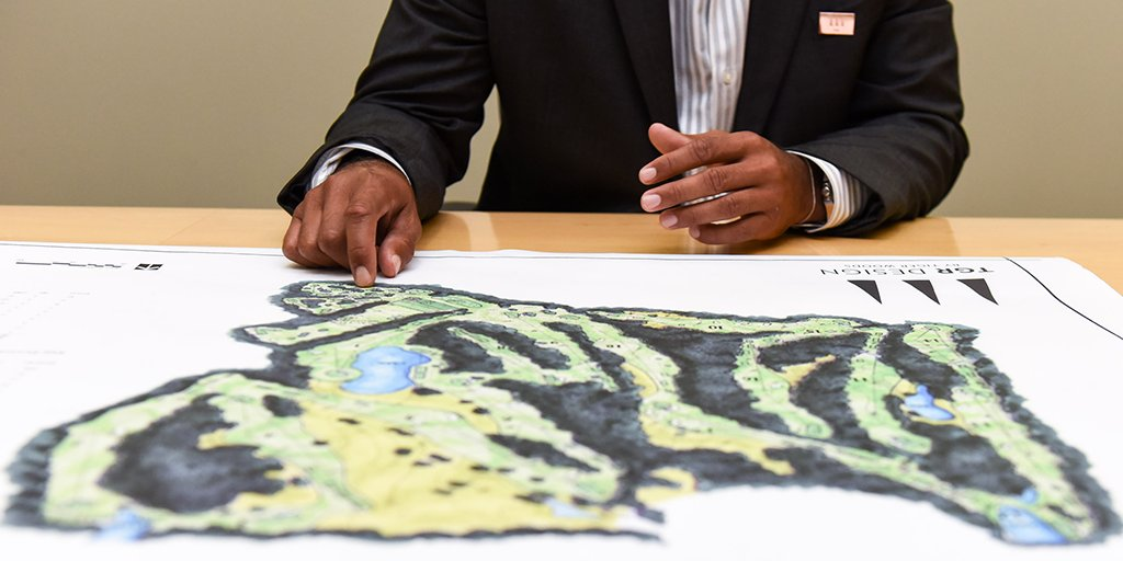 Guided by the hands-on approach of @tigerwoods, our golf courses are crafted in a thoughtful and deliberate manner.
